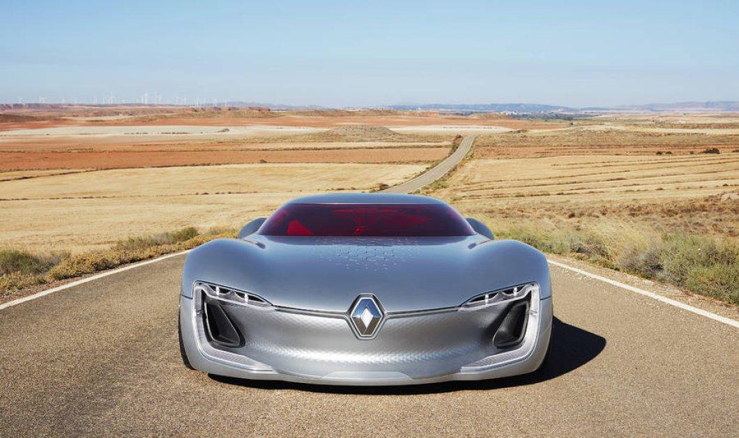 Το φουτουριστικό Renault Trezor συνεπαίρνει ήδη την υφήλιο: Δείτε στις φωτό γιατί - Κυρίως Φωτογραφία - Gallery - Video