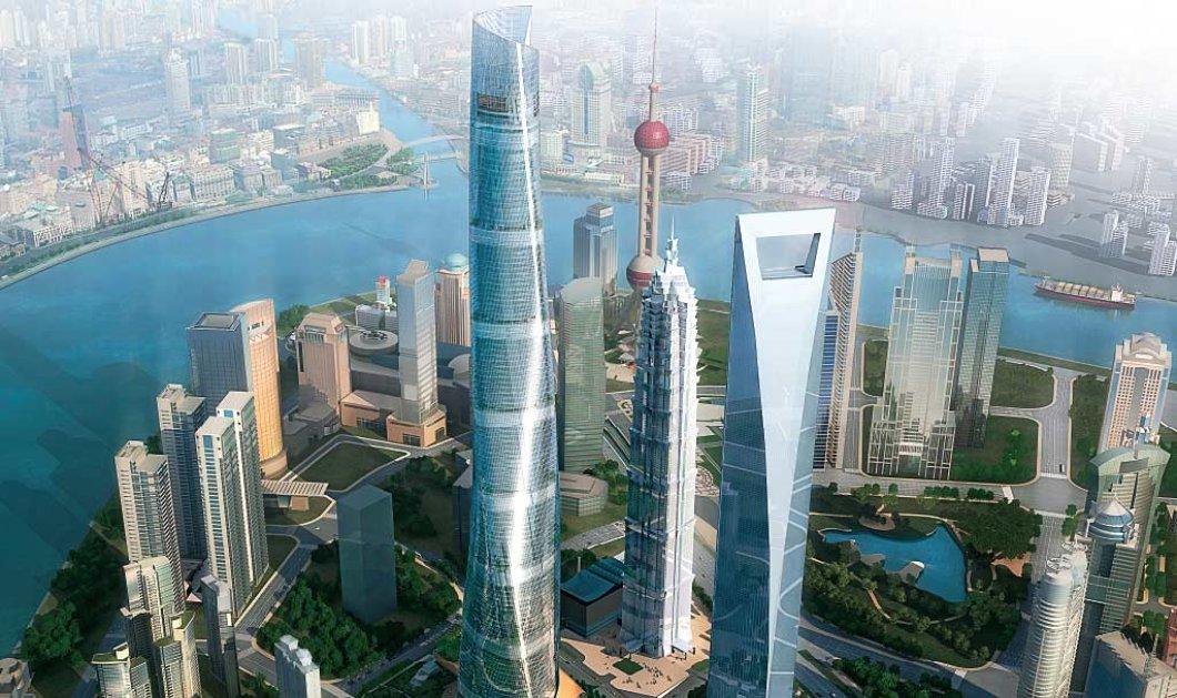 """Πάμε στην Κίνα για να δούμε τον Shanghai Tower με ύψος 632 μέτρα: Αρχιτεκτονικό """"θαύμα"""" για το 2016 - Κυρίως Φωτογραφία - Gallery - Video"""
