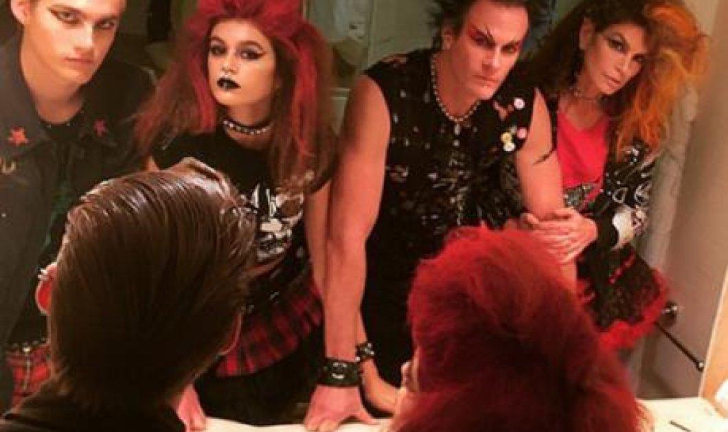Η πιο Halloween οικογένεια του πλανήτη: Η Σίντι Κρόφορντ με τα παιδιά & τον άντρα της αλλού για αλλού! - Κυρίως Φωτογραφία - Gallery - Video