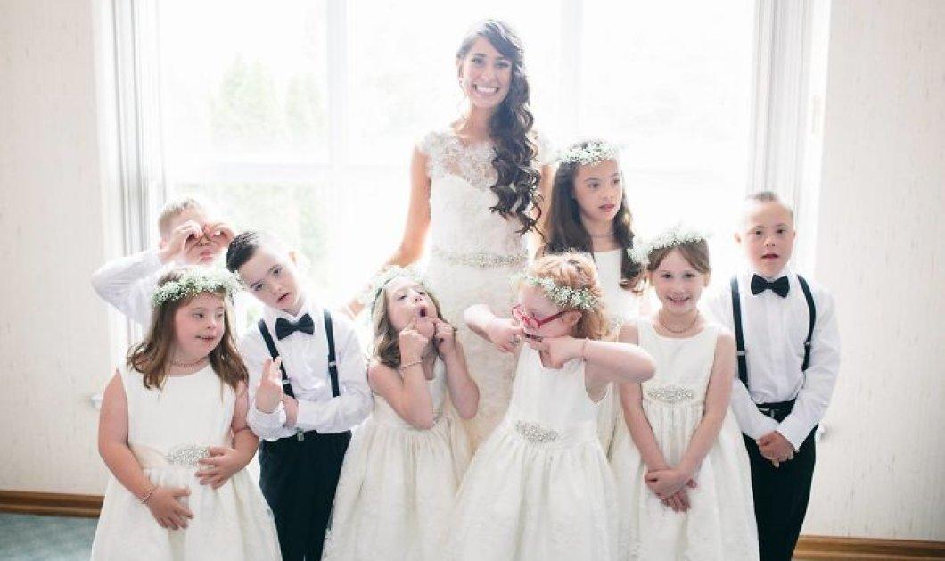 Δασκάλα από ειδικό σχολείο κάλεσε τους μαθητές της στο γάμο της & το Ίντερνετ τους λάτρεψε! - Κυρίως Φωτογραφία - Gallery - Video