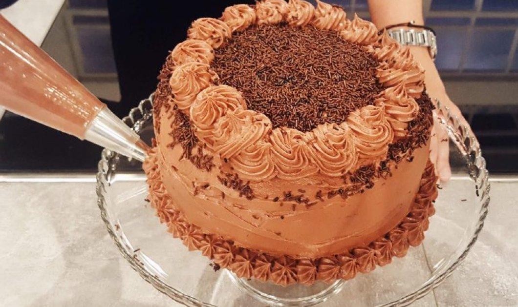 Η Αργυρώ μας κολάζει.. γλυκά: Κρεμώδης & δροσερή τούρτα τρούφα σοκολάτας - Κυρίως Φωτογραφία - Gallery - Video