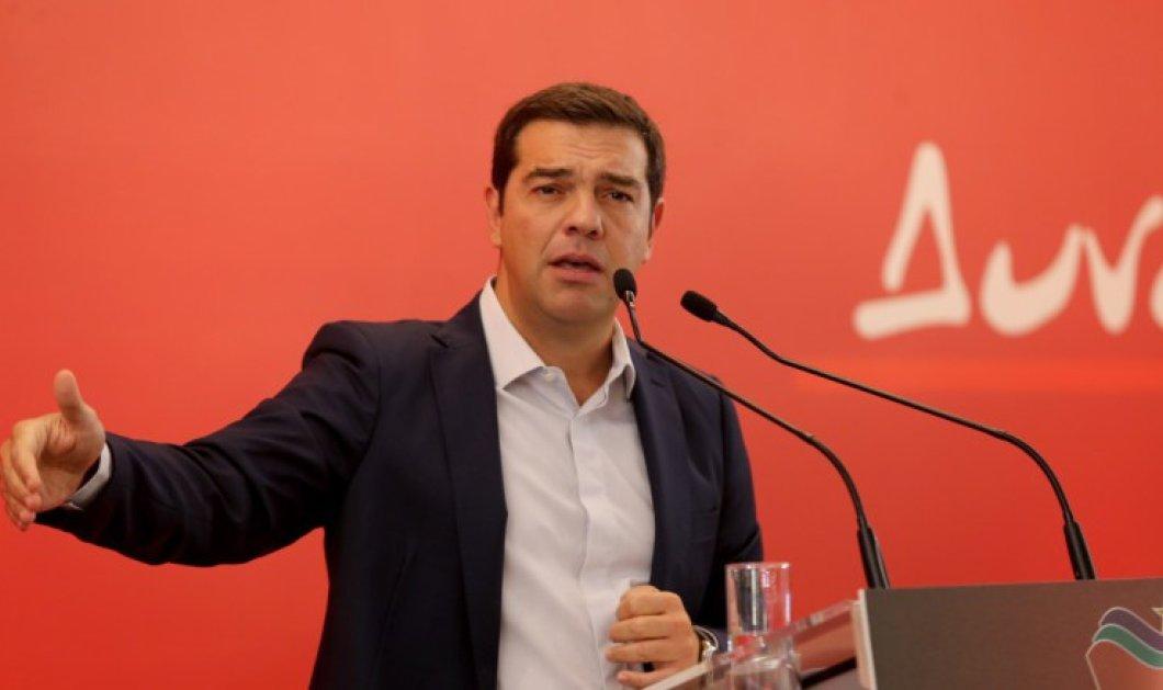 Σφοδρή επίθεση Τσίπρα στον Κ. Μητσοτάκη από το βήμα της νέας Κ.Ε. του ΣΥΡΙΖΑ - Τι είπε για τηλεοπτικές άδειες & ΣτΕ - Κυρίως Φωτογραφία - Gallery - Video