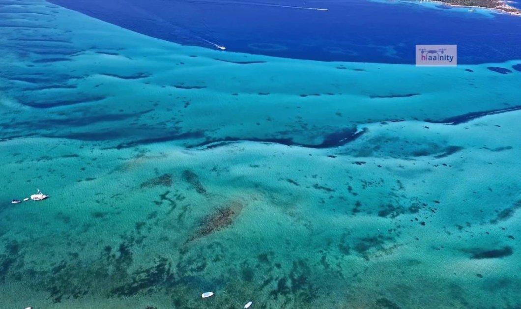 Η θάλασσα με τα πιο όμορφα παγωμένα κύματα είναι στην Ελλάδα: Δείτε το drone βίντεο & φύγαμε για Χαλκιδική   - Κυρίως Φωτογραφία - Gallery - Video