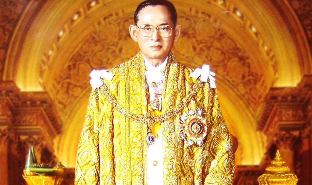 Σε 33 φωτό ο χλιδάτος βίος του Βασιλιά της Ταϊλάνδης: Στον θρόνο 70 χρόνια - λάτρευε τον σκύλο του  - Κυρίως Φωτογραφία - Gallery - Video