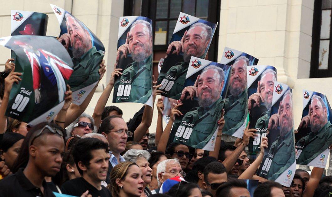 Στην Πλατεία της Επανάστασης στην Αβάνα η τελετή μνήμης για τον Φιντέλ Κάστρο - Κυρίως Φωτογραφία - Gallery - Video