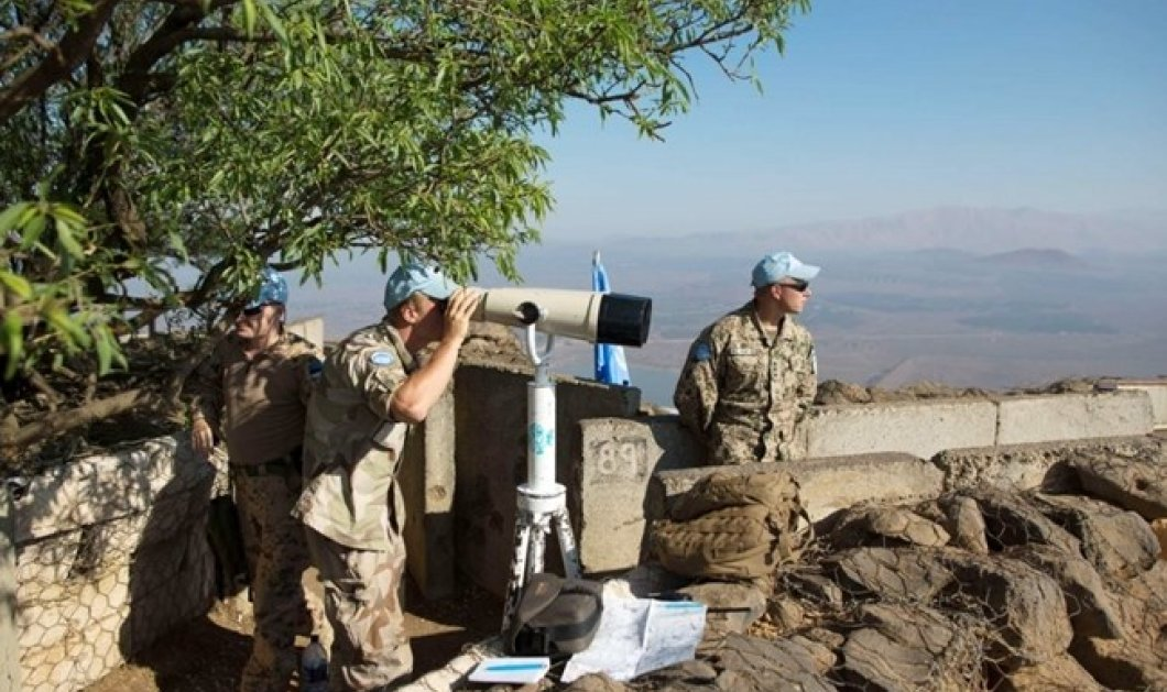 Επιδρομή του Ισραήλ εναντίον τζιχαντιστών του ISIS στα υψίπεδα του Γκολάν - Κυρίως Φωτογραφία - Gallery - Video
