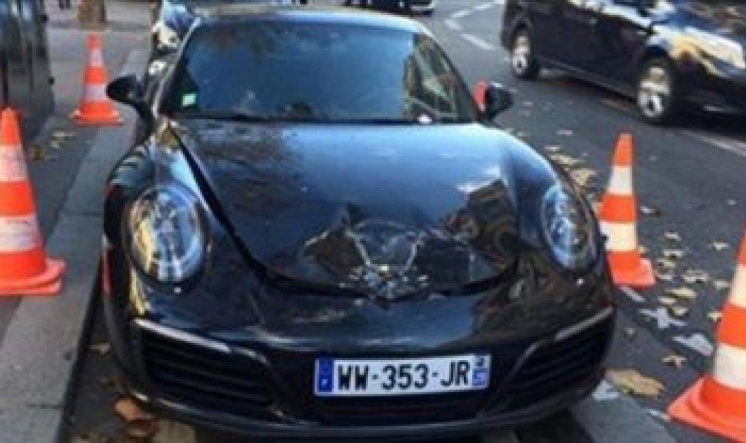 Νεαρός πάρκαρε την πανάκριβη Πόρσε του σε πιάτσα ταξί στο Παρίσι και η Αστυνομία αποφάσισε να την... ανατινάξει! - Κυρίως Φωτογραφία - Gallery - Video