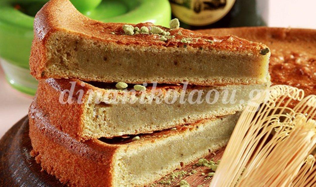 Κέικ με πράσινο τσάι,γιασεμί, κανέλα και σάλτσα ανγκλέζ: Η Ντίνα Νικολάου στα κέφια της - Κυρίως Φωτογραφία - Gallery - Video