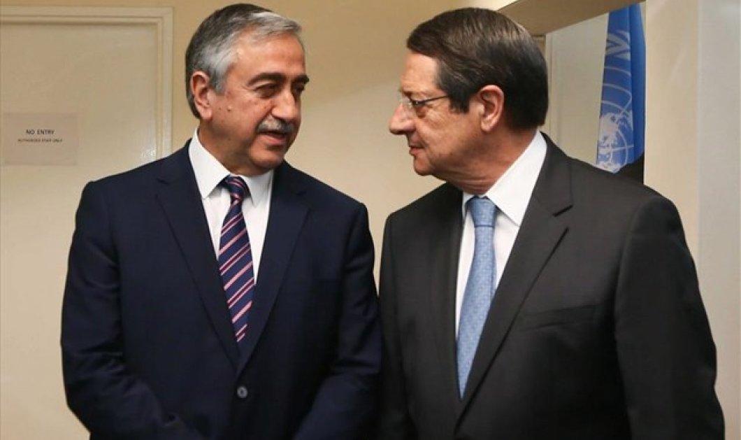 Σε καλό κλίμα ξεκίνησε ο δεύτερος γύρος συζητήσεων για τη λύση του Κυπριακού στην Ελβετία  - Κυρίως Φωτογραφία - Gallery - Video