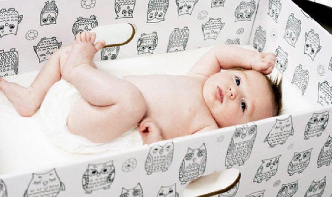 Απο το 2017 τα μωρά στη Σκωτία θα μεγαλώνουν σε κουτιά σαν την Φιλανδία - Σκοπός η ισότητα  - Κυρίως Φωτογραφία - Gallery - Video