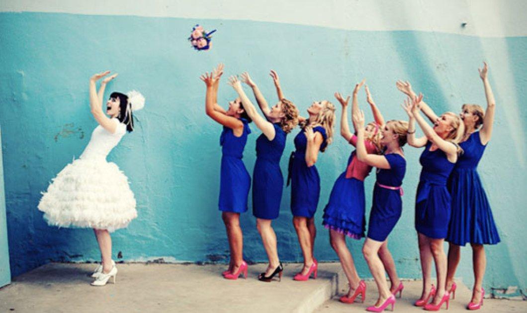 Smile Video: Άνδρες vs γυναίκες – Πως αντιδρά το κάθε φύλο στο πιάσιμο της γαμήλιας ανθοδέσμης; - Κυρίως Φωτογραφία - Gallery - Video