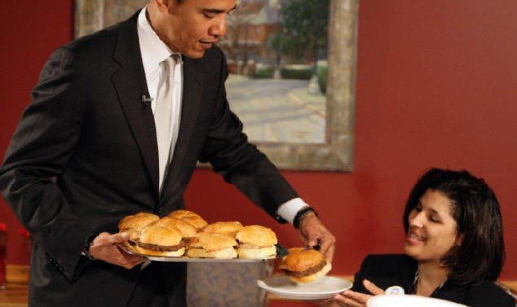 Αυτό είναι το αγαπημένο φαγητό του Μπάρακ Ομπάμα - Πως να φτιάξετε & εσείς American burger - Κυρίως Φωτογραφία - Gallery - Video