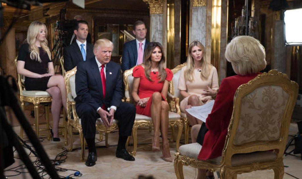 Η Μελάνια Τραμπ στην πρώτη της συνέντευξη ως Πρώτη Κυρία των ΗΠΑ: Λέω στο Ντόναλντ συνέχεια πως ξεπερνάει τα όρια - Κυρίως Φωτογραφία - Gallery - Video
