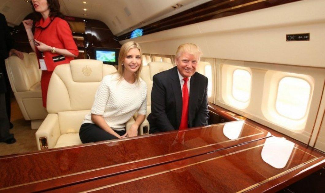 Δείτε το χλιδάτο αεροπλάνο του Ντόναλντ Τραμπ - Με χρυσό.. νιπτήρα & κρεβάτι - Κυρίως Φωτογραφία - Gallery - Video