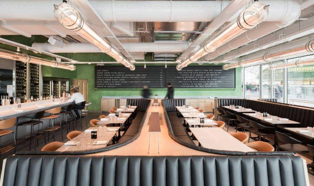 Ανακαλύψτε το νέο εστιατόριο του πολυβραβευμένου σεφ Alain Ducasse - Σύγχρονο design με παριζιάνικες πινελιές  - Κυρίως Φωτογραφία - Gallery - Video