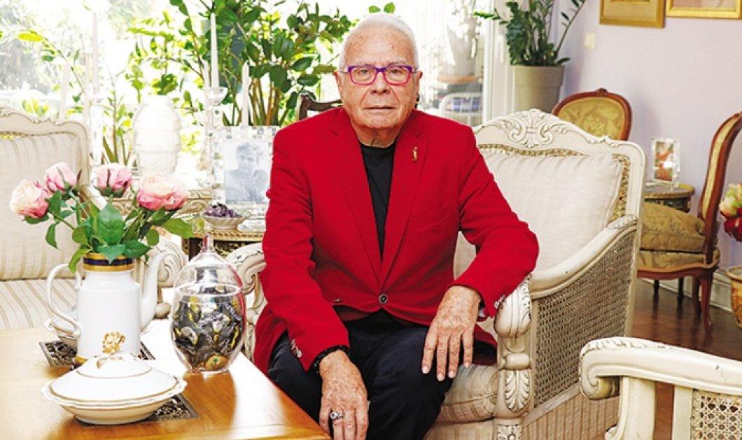 Ο Φιλήμων στα 84 μιλάει για όλες: Η Μπαζιάνα νόστιμη με ωραία πόδια αλλά... η Μελάνια θα γίνει Τζάκυ & θυμάται - Κυρίως Φωτογραφία - Gallery - Video