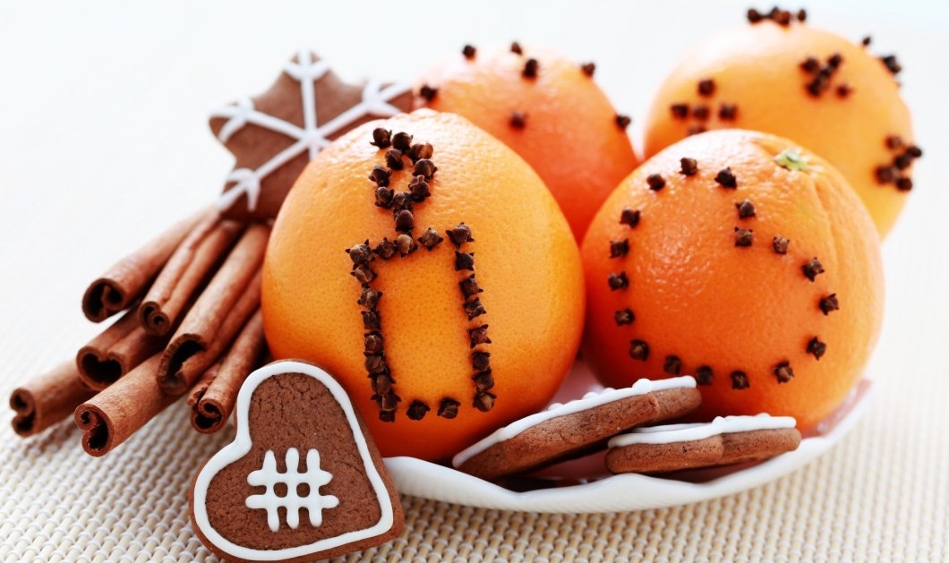 Το eirinika σας δίνει το  tip της ημέρας: Μπήξτε γαρύφαλλα στα πορτοκάλια και τα Χριστούγεννα θα αρωματίσουν το σπίτι σας - Κυρίως Φωτογραφία - Gallery - Video