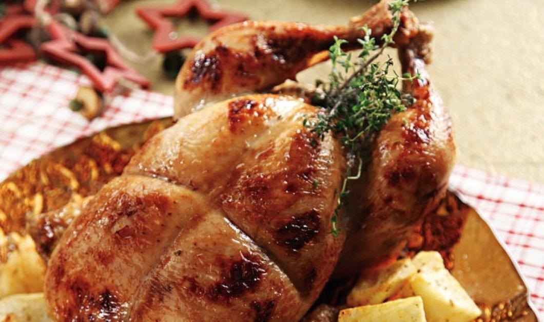 Η Αργυρώ μαγειρεύει γεμιστό κοτόπουλο στη γάστρα - Μια τέλεια συνταγή για τις γιορτές που πλησιάζουν - Κυρίως Φωτογραφία - Gallery - Video