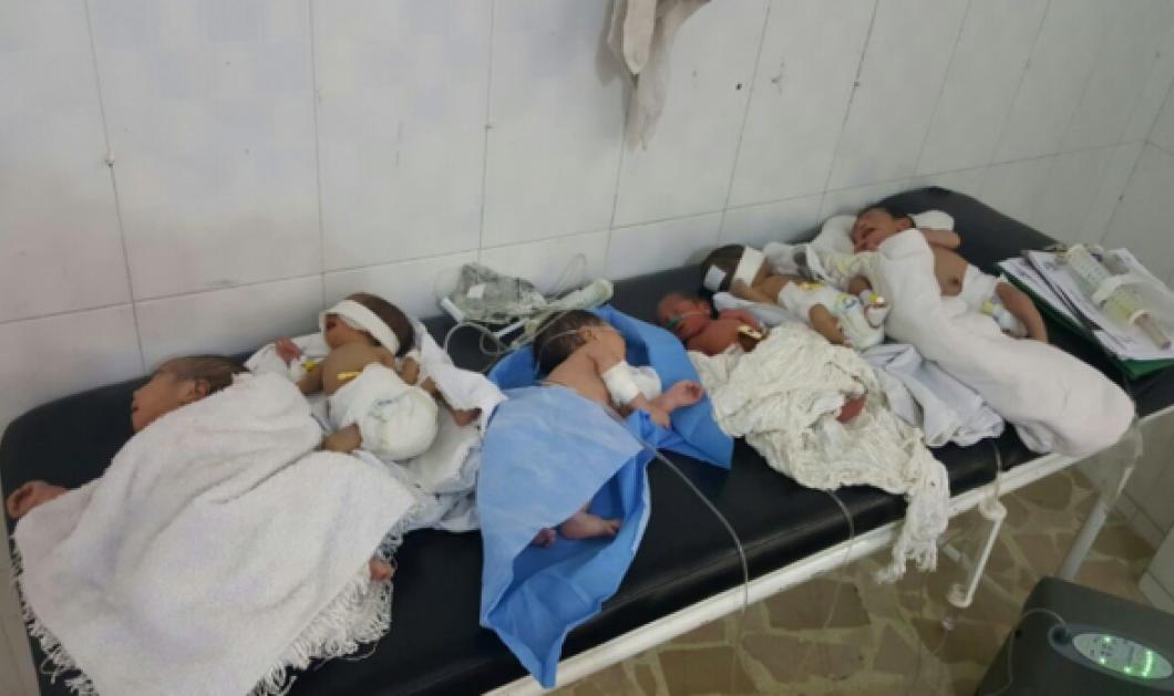Συγκλονιστικές εικόνες από τον βομβαρδισμό παιδιατρικού νοσοκομείου στο Χαλέπι - Έβγαλαν τα μωρά από τις θερμοκοιτίδες για να τα σώσουν - Κυρίως Φωτογραφία - Gallery - Video