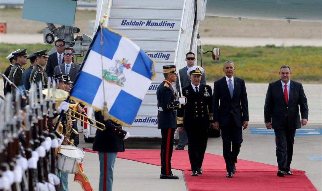 Η επίσκεψη του Μπάρακ Ομπάμα σε κλικς: Tα κόκκινα χαλιά, το ''κτήνος'' & το χαμόγελο του Προέδρου των ΗΠΑ - Κυρίως Φωτογραφία - Gallery - Video