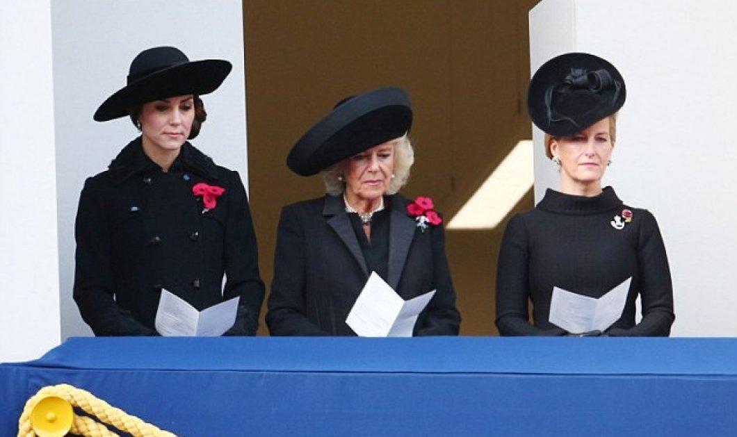 Πένθος στο Μπάκιγχαμ: Η θλιμμένη πριγκίπισσα Κέιτ & η σέξι στα μαύρα μνηστή του Χάρι Μέγκαν Μαρκλ - Κυρίως Φωτογραφία - Gallery - Video