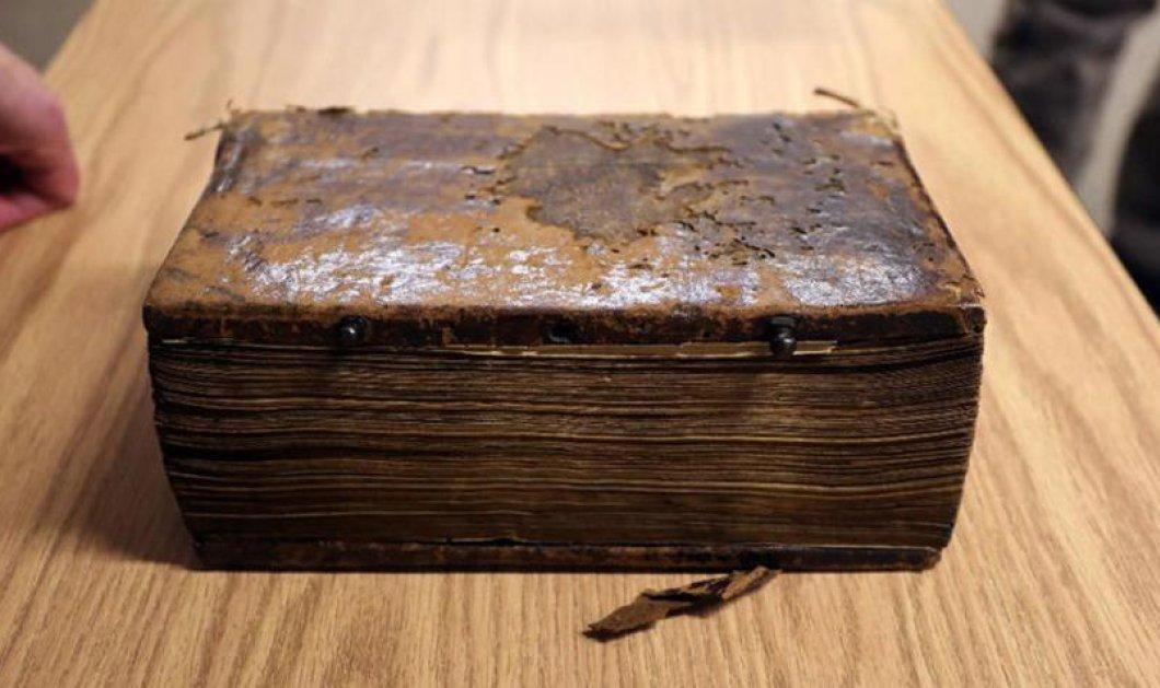 Good news: Σπάνιο χειρόγραφο της Καινής Διαθήκης που κλάπηκε στον Α' Παγκ. Πόλεμο επιστρέφει στην Δράμα - Κυρίως Φωτογραφία - Gallery - Video