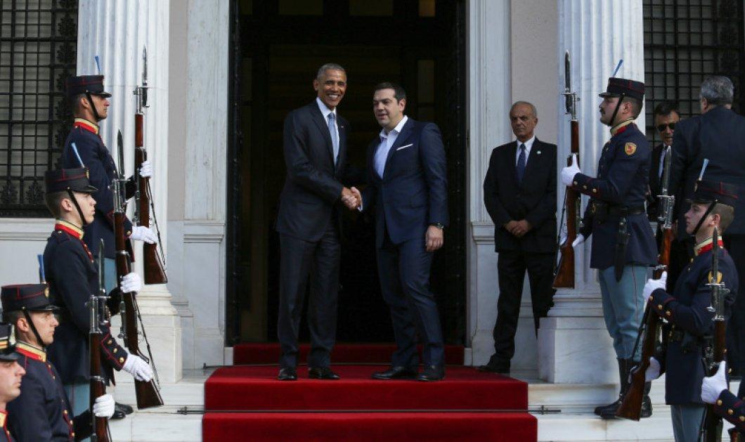 Ομπάμα σε Τσίπρα: Να υπάρξει ελάφρυνση χρέους - Μόνο με λιτότητα δεν γίνεται τίποτα - Κυρίως Φωτογραφία - Gallery - Video