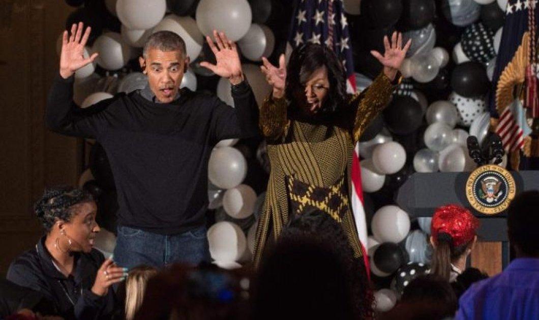 Thriller & Michael Jackson χόρεψαν Obama & Michelle αφήνοντας σιγά σιγά τον Λευκό Οίκο  - Κυρίως Φωτογραφία - Gallery - Video