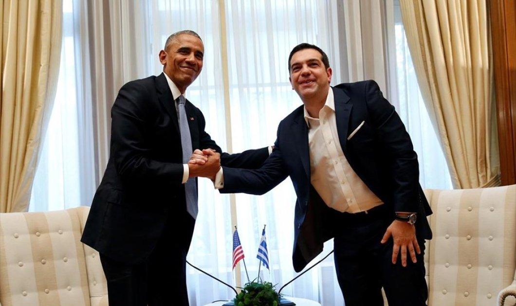 Συνέντευξη Τύπου Ομπάμα - Τσίπρα: Τα ελληνικά του Προέδρου των ΗΠΑ, οι συζητήσεις για το χρέος & τα χαμόγελα - Κυρίως Φωτογραφία - Gallery - Video