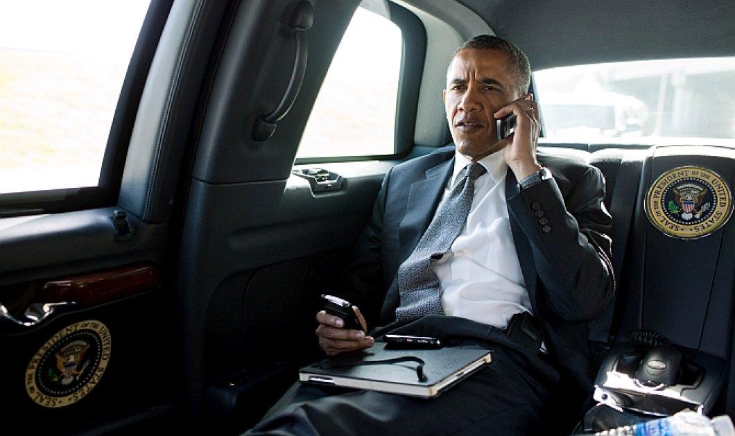 Γιατί χάθηκε το «κτήνος» τη δεύτερη ημέρα της επίσκεψης Ομπάμα; Χάλασε ή εξαφανίστηκε; Εδώ σας θέλω - Κυρίως Φωτογραφία - Gallery - Video