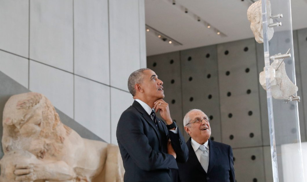 Όλες οι φωτό από την επίσκεψη Ομπάμα στο Μουσείο Ακρόπολης: ''Θα επιστρέψω με τα παιδιά & την Μισέλ''! - Κυρίως Φωτογραφία - Gallery - Video