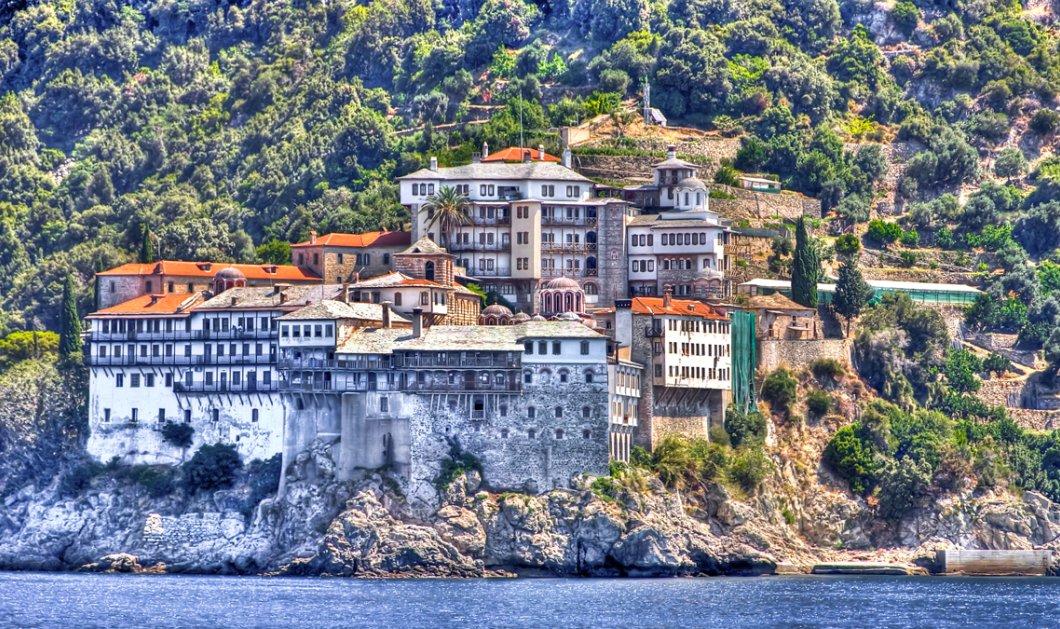 Στο Άγιον Όρος ο Κυριάκος Μητσοτάκης - Δείτε φωτό μέσα από το μοναστήρι - Κυρίως Φωτογραφία - Gallery - Video