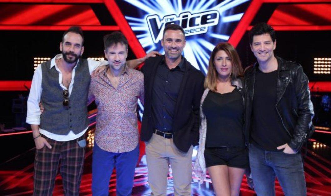 Ξεκινούν οι blind auditions του The Voice - Πότε κάνει πρεμιέρα το show με Ρουβά, Παπαρίζου,Μαραβέγια, Μουζουράκη, Καπουτζίδη  - Κυρίως Φωτογραφία - Gallery - Video
