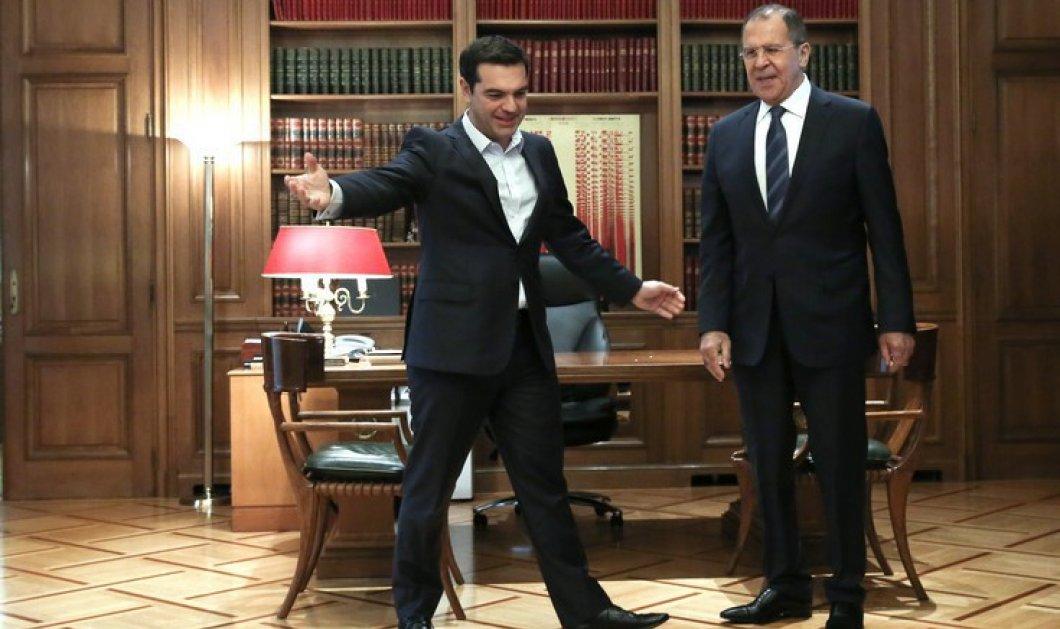 Τσίπρας σε Λαβρόφ: «Να διατηρηθούν οι στενές σχέσεις Ελλάδας - Ρωσίας» - Τι είπε με Παυλόπουλο - Κυρίως Φωτογραφία - Gallery - Video