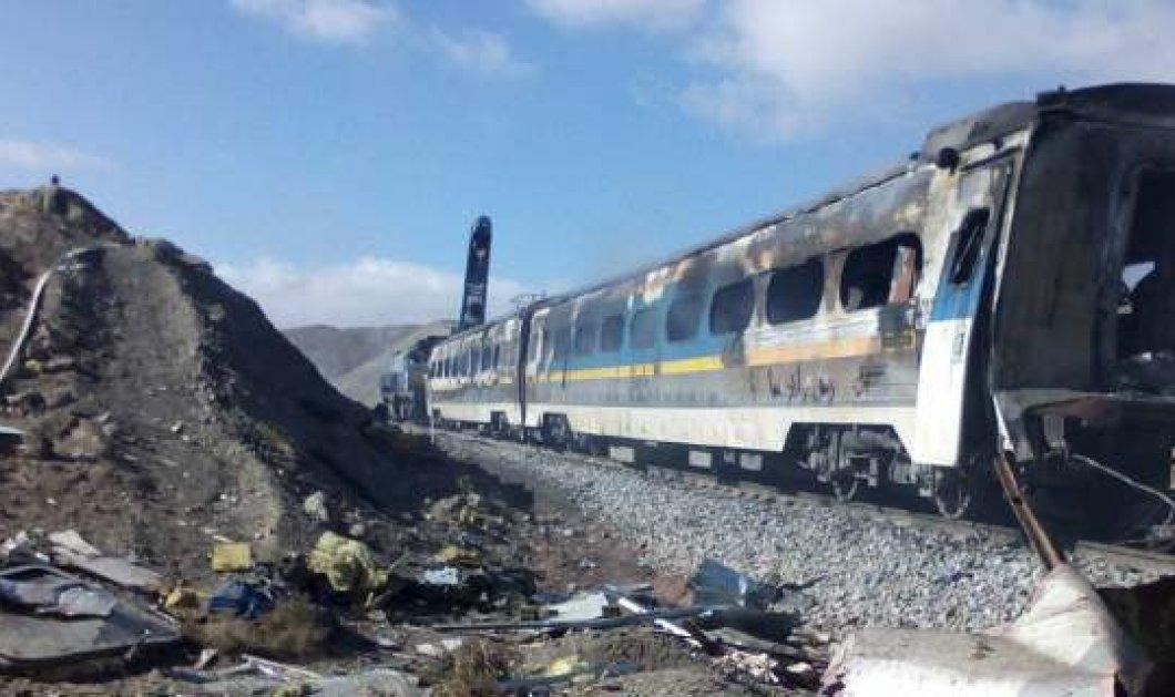 Τραγωδία στο Ιράν: Σφοδρή σύγκρουση επιβατικών τρένων  - Τουλάχιστον 36 νεκροί, 95 τραυματίες  - Κυρίως Φωτογραφία - Gallery - Video