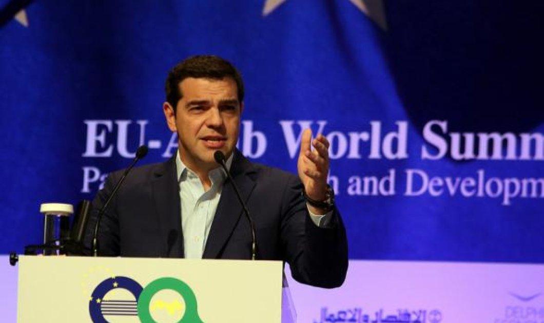 Τσίπρας στην Ευρωαραβική Σύνοδο: Η Ελλάδα αναδύεται δυναμικά μετά από έξι χρόνια οικονομικής κρίσης - Κυρίως Φωτογραφία - Gallery - Video