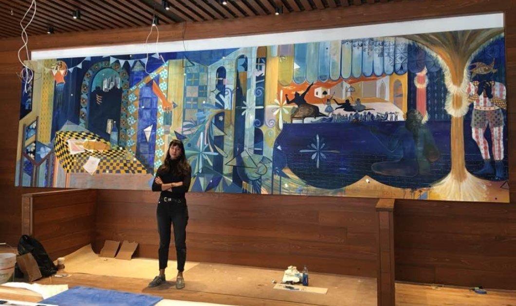 Τοp woman η Κυβέλη Ζωή - H Ελληνίδα που μόλις δημιούργησε υπέροχη τοιχογραφία στην καρδιά του Μανχάταν!  - Κυρίως Φωτογραφία - Gallery - Video