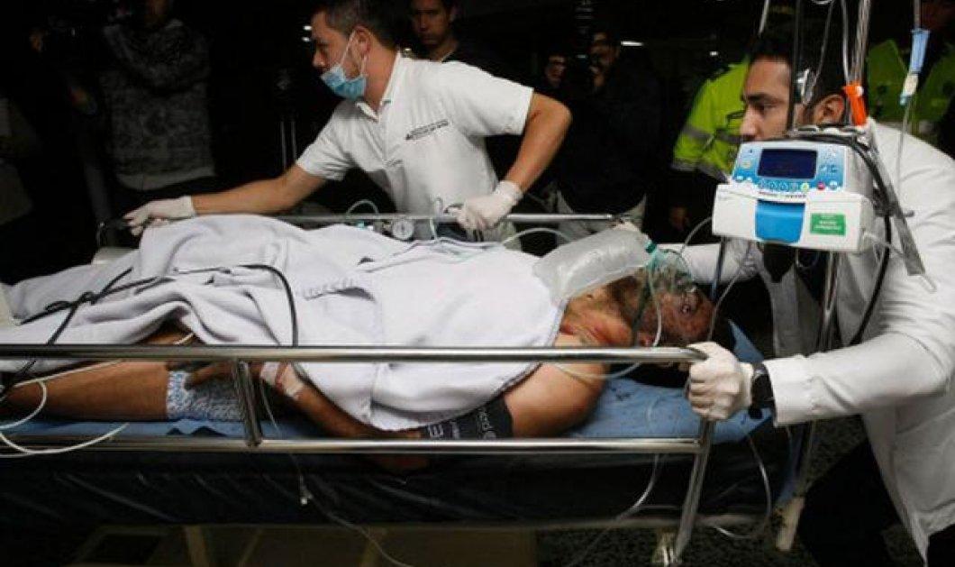 Ο τραυματίας ποδοσφαιριστής ζητούσε να μη βγάλουν τη βέρα του όταν τον έβαλαν στο φορείο - Κυρίως Φωτογραφία - Gallery - Video