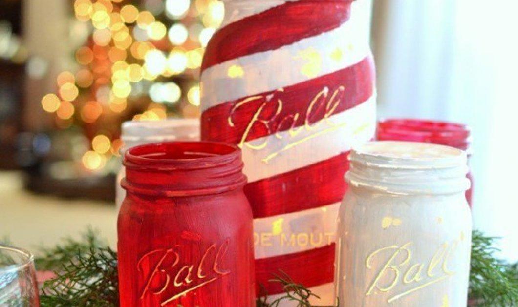 Υπέροχα βάζα με Χριστουγεννιάτικες συνθέσεις για να βάλετε οικονομικά τη γιορτινή ατμόσφαιρα στο σπίτι σας - Κυρίως Φωτογραφία - Gallery - Video