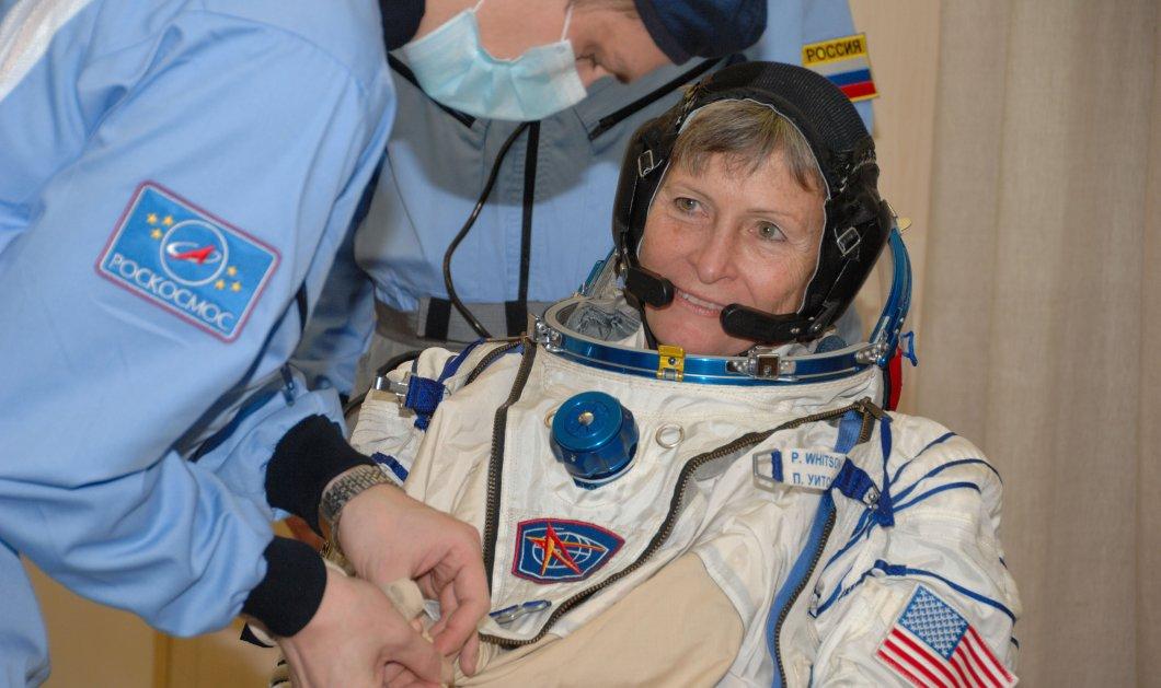 Top Woman η Πέγκι Ουίτσον: Στα 57 της έγινε η γηραιότερη γυναίκα αστροναύτης - Κυρίως Φωτογραφία - Gallery - Video