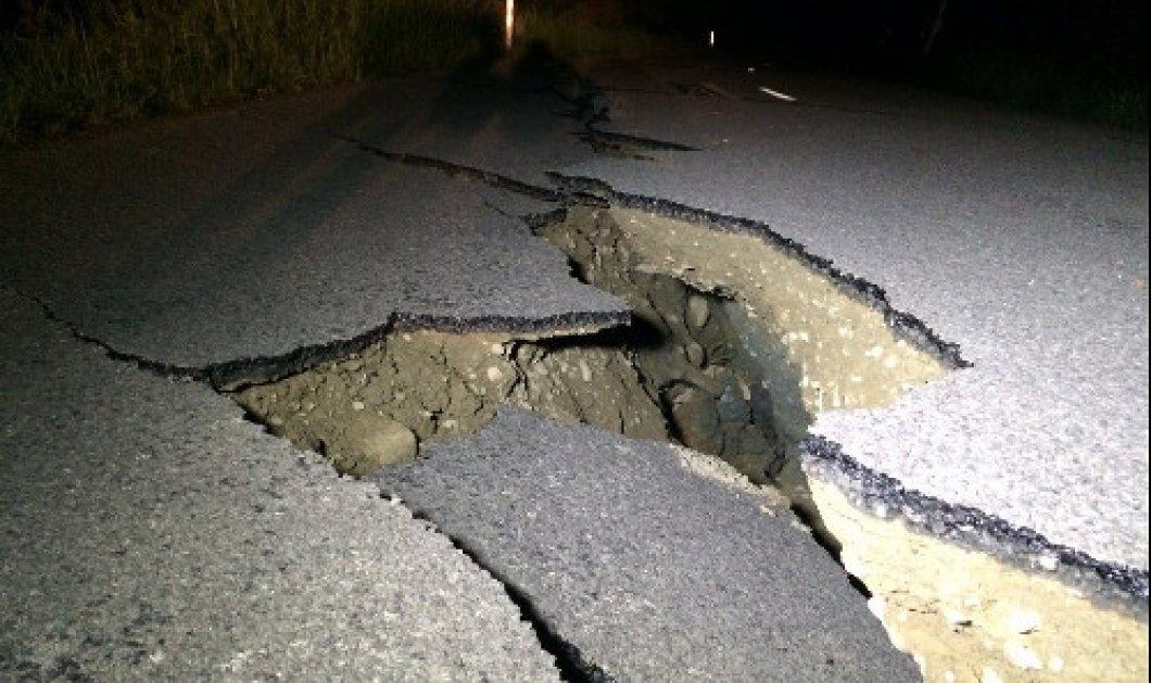 Μεγάλος σεισμός  χτύπησε τη Νέα Ζηλανδία, κοντά στην πόλη Κράισττσερτς - Κυρίως Φωτογραφία - Gallery - Video