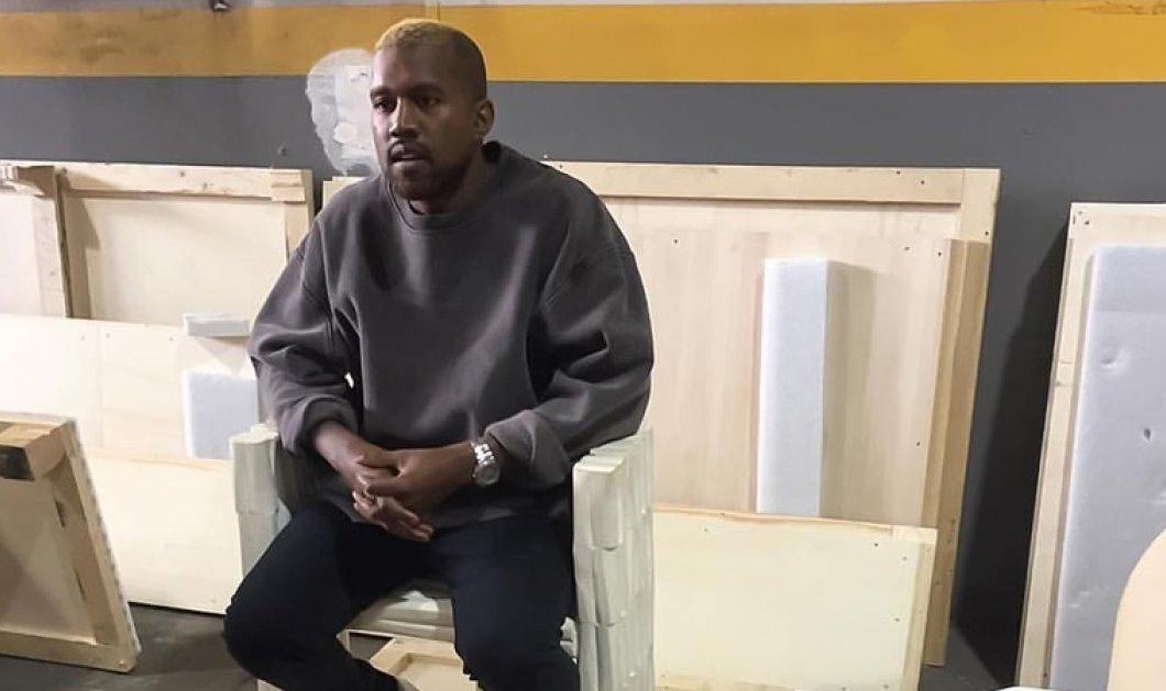 """Αλλαγμένος ο Kanye West στην πρώτη του έξοδος μετά τη νοσηλεία του - Μόνος και """"χαμένος"""", με βαμμένα μαλλιά - Κυρίως Φωτογραφία - Gallery - Video"""