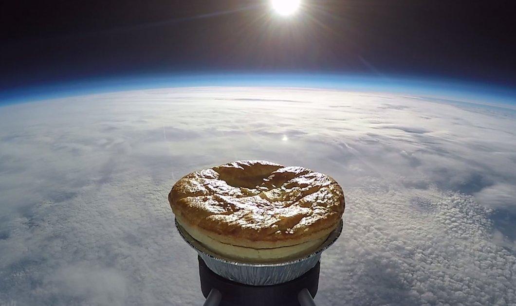 Το πιο τρελό ταξίδι ever! Αυτή η τραγανή πίτα ταξίδεψε κυριολεκτικά μέχρι το διάστημα - Δείτε το απίστευτο βίντεο!  - Κυρίως Φωτογραφία - Gallery - Video