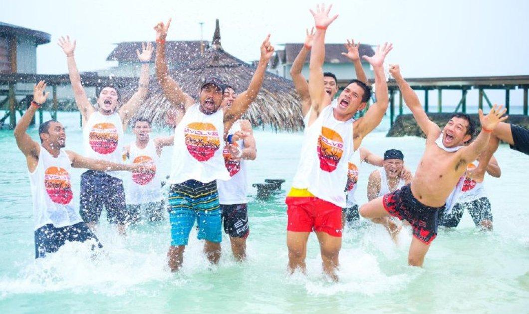 Το διάσημο large  αφεντικό ξαναχτυπά !Φέτος πήγε ταξίδι τους 400 υπαλλήλους του στις Μαλδίβες και ξόδεψε 467.000 ευρώ!  - Κυρίως Φωτογραφία - Gallery - Video