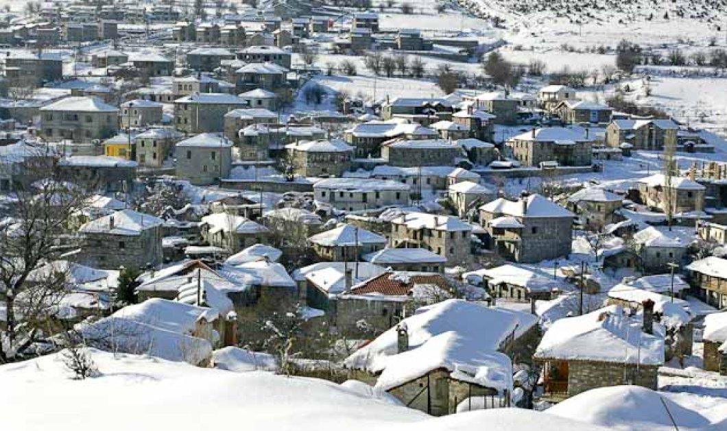 Χριστούγεννα στον Άγιο Αθανάσιο Καϊμακτσαλάν: Η ''Αυστρία'' της Βόρειας Ελλάδας με τα πετρόκτιστα, το χιόνι & την διασκέδαση - Κυρίως Φωτογραφία - Gallery - Video