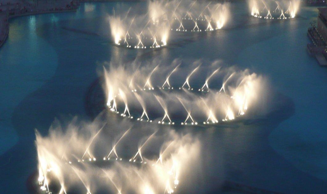 """Βίντεο: Ένα συντριβάνι στο Ντουμπάι """"χορεύει"""" """"Ι will always love you"""" - Φανταστικό!  - Κυρίως Φωτογραφία - Gallery - Video"""