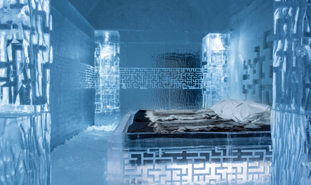 Σουηδία: Άνοιξε το πρώτο ξενοδοχείο από πάγο - Θα λειτουργεί όλο τον χρόνο - Φανταστικές φωτο - Κυρίως Φωτογραφία - Gallery - Video