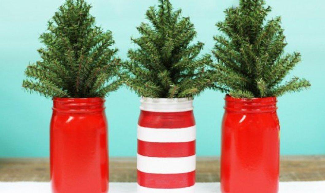 Φανταστικά βάζα με Χριστουγεννιάτικες συνθέσεις για να βάλετε οικονομικά & εντυπωσιακά την γιορτινή ατμόσφαιρα στο σπίτι  - Κυρίως Φωτογραφία - Gallery - Video