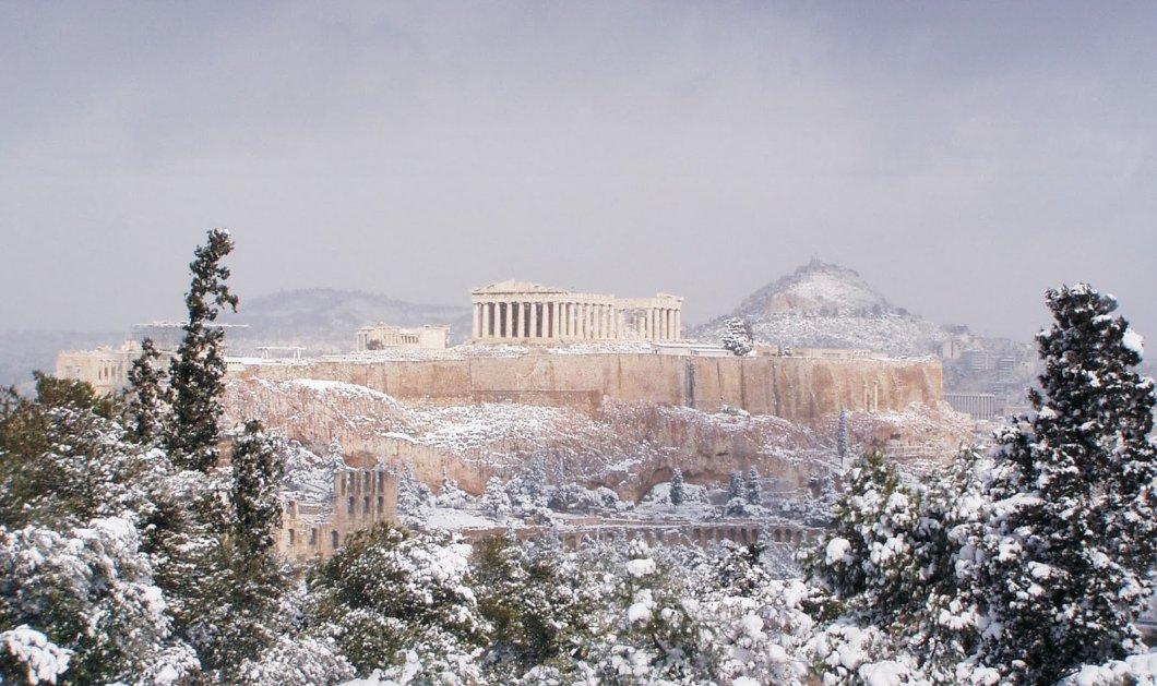 Αρναούτογλoυ, Καντερές & Καλλιάνος προβλέπουν ιστορικό χιονιά στην Αττική - Κρήτη & Αιγαίο 9- 10 μποφόρ - Κυρίως Φωτογραφία - Gallery - Video