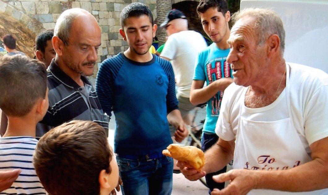 Good News: Στον «Φούρναρη της Κω» που έδινε ψωμί στους πρόσφυγες το βραβείο Κοινωνίας των Πολιτών 2016 - Κυρίως Φωτογραφία - Gallery - Video